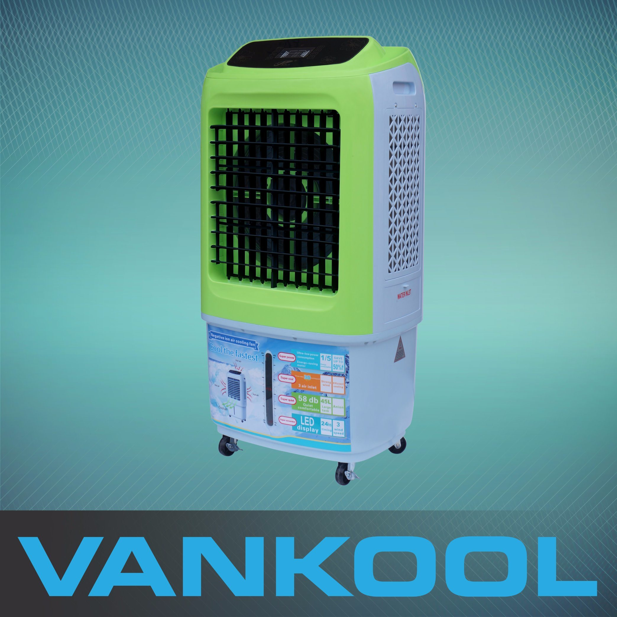 New Arrival Small Portable Swamp Cooler Hot Sales in Iraq with 3500m3h Airflow