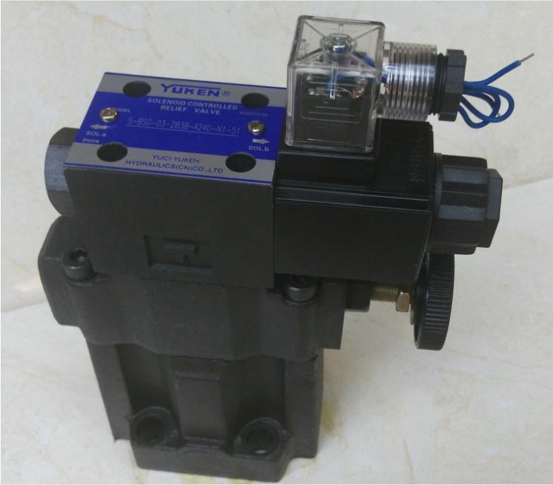 Yuci Yuken Overflow Valve S-Bsg-03-2b3b-A240-N1-51 with Low Noise High Pressure Solenoid Valve