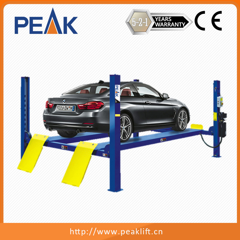 China Electric Air Control 4 Post Vehicle Lift With Long Warranty