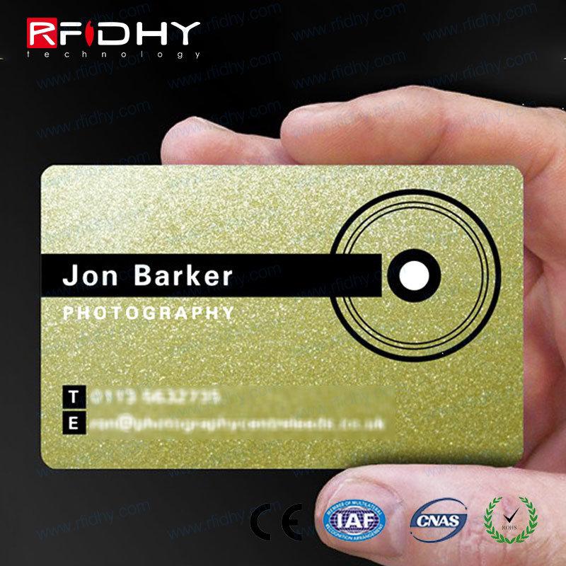 Factory Wholesale PVC RFID Smart Cmyk Printing Business ID Card