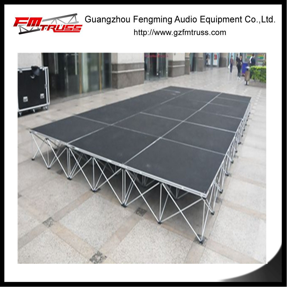 Aluminum Alloy Pop up Stage Portable Stage