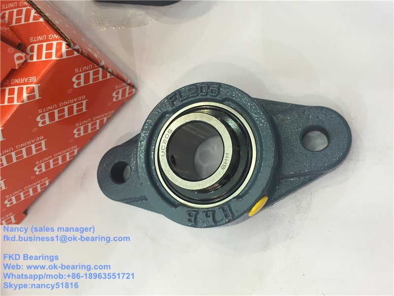 "1"" 2-Bolt Stainless Steel Flange Bearings UCFL 205-16"