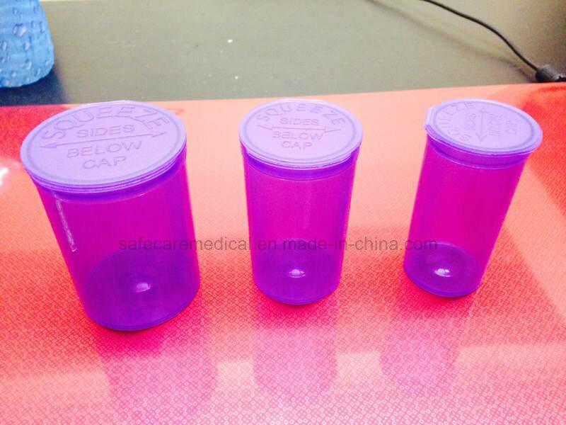 6 DRAM Pop Top Bottle Vial Container Van Cave