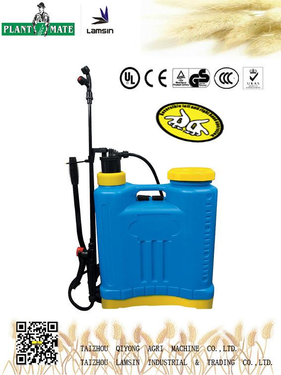18L Manual Knapsack Hand Sprayer (3WBS-18F)