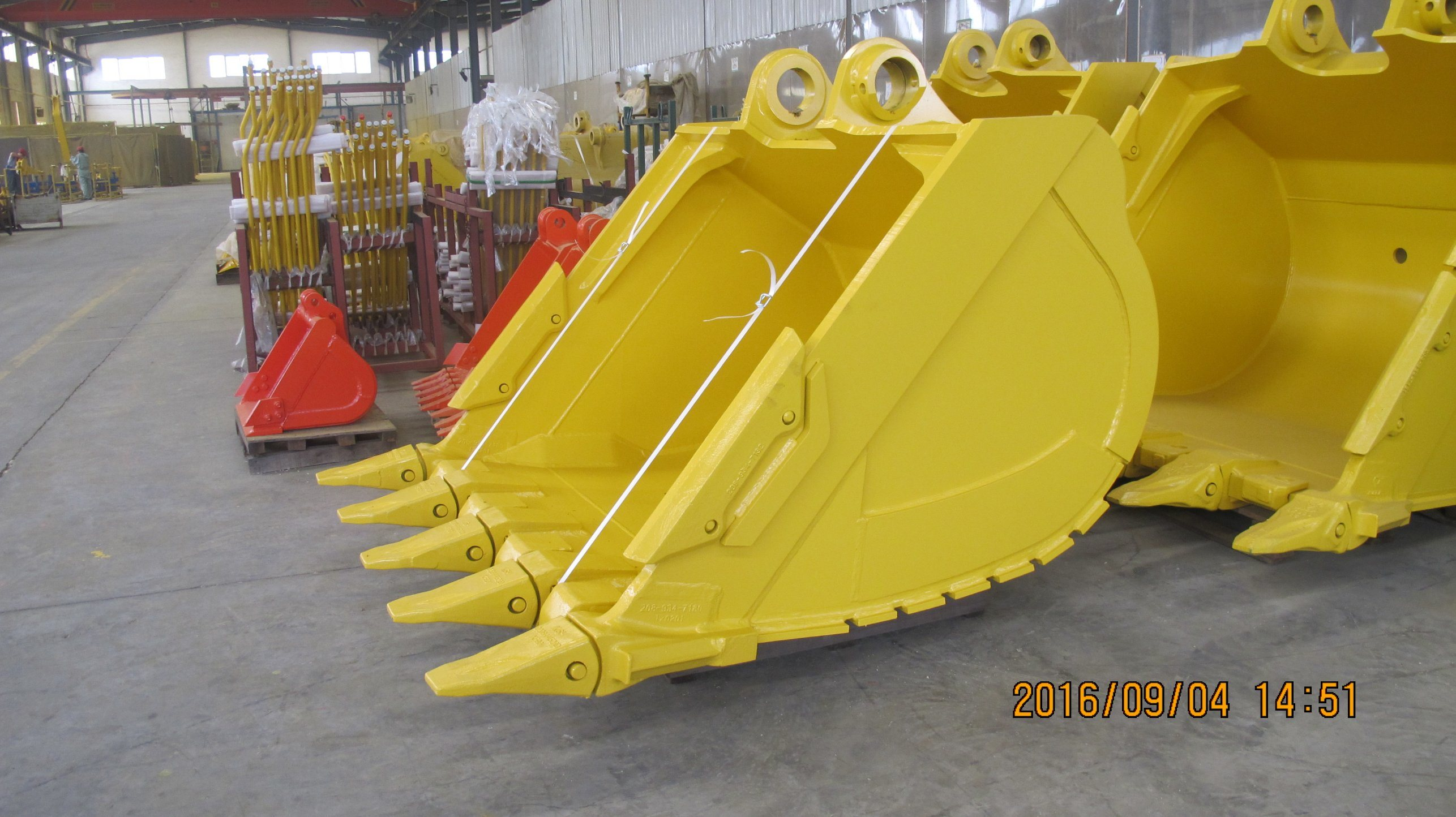 Komastu Excavator Standard Bucket with Teeth