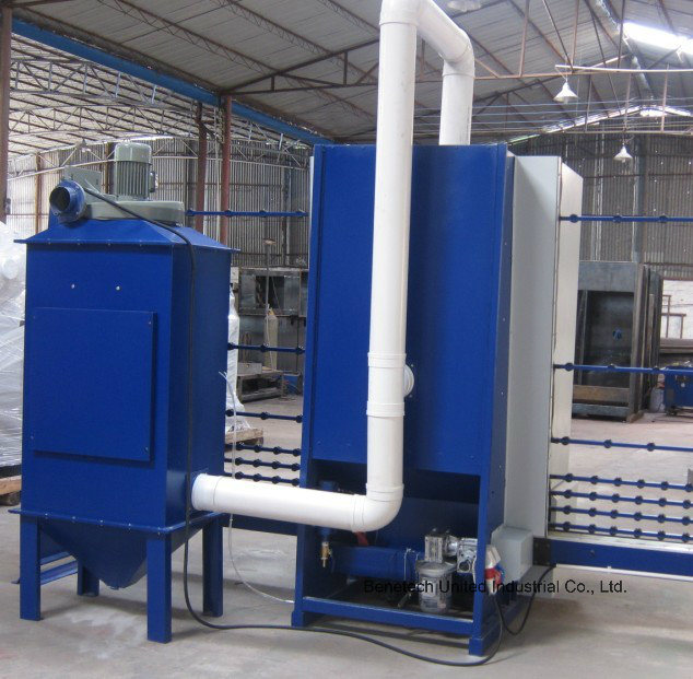 Glass Automatic Sandblasting Machine for Sanding Glass BS
