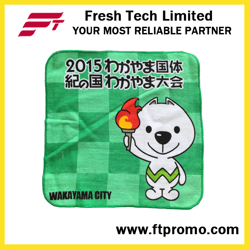 Promotional Polyester Printed Pocket Square Hanky Handkerchief