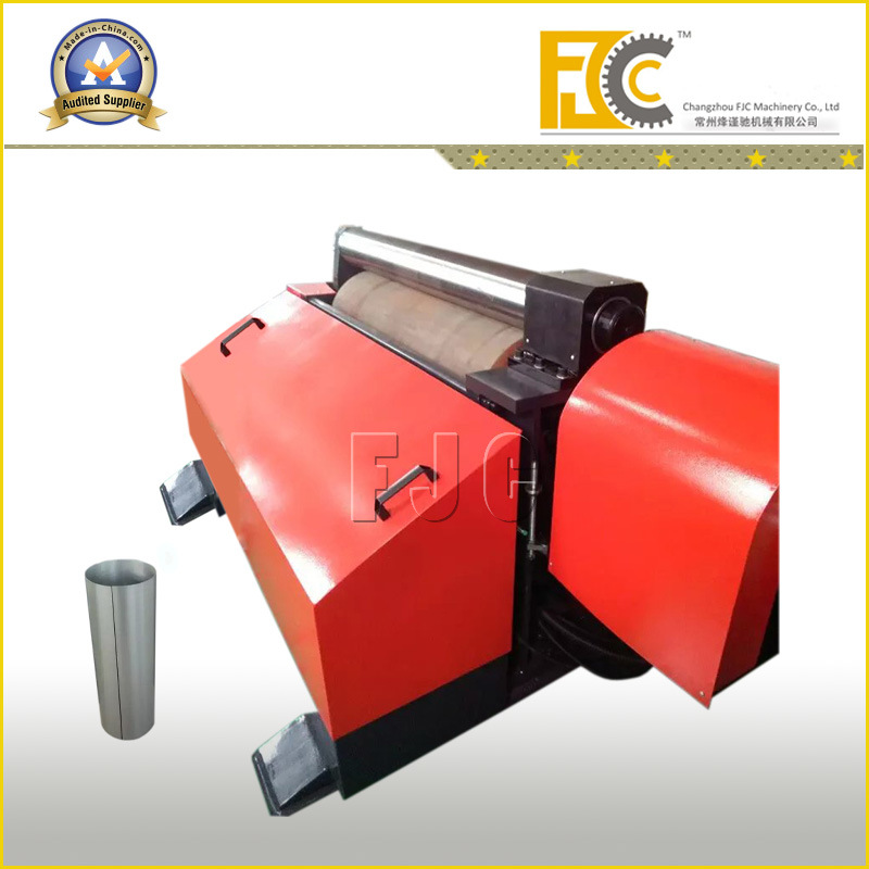 Cylindrical Shape Work-Piece Thin Metal Rolling Machine