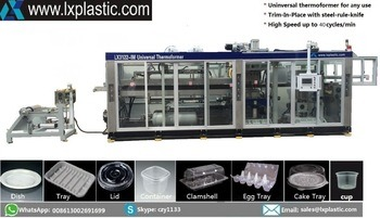 Chinese Cheap Pressure and Vacuum Thermoforming Equipment