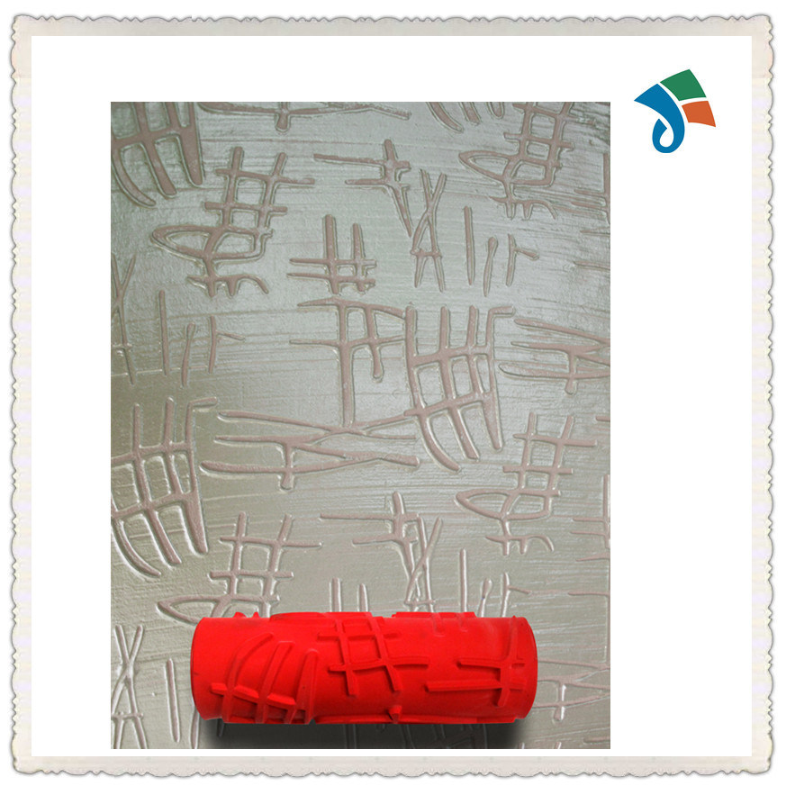 DIY Wall Decoration Tool 7 Inch Embossed Painting Roller