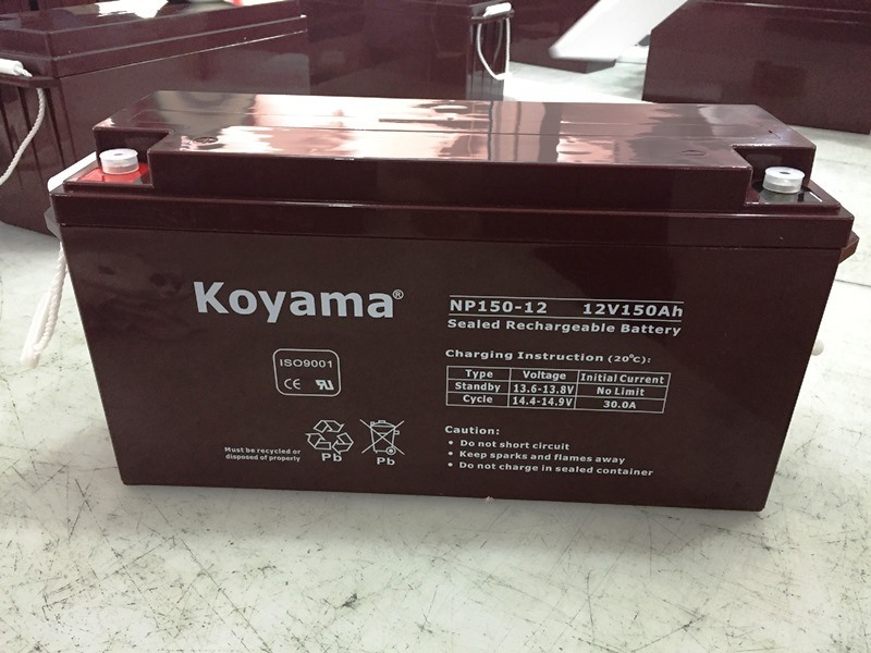 Storage SLA AGM Battery 12V150ah for Solar, Backup System