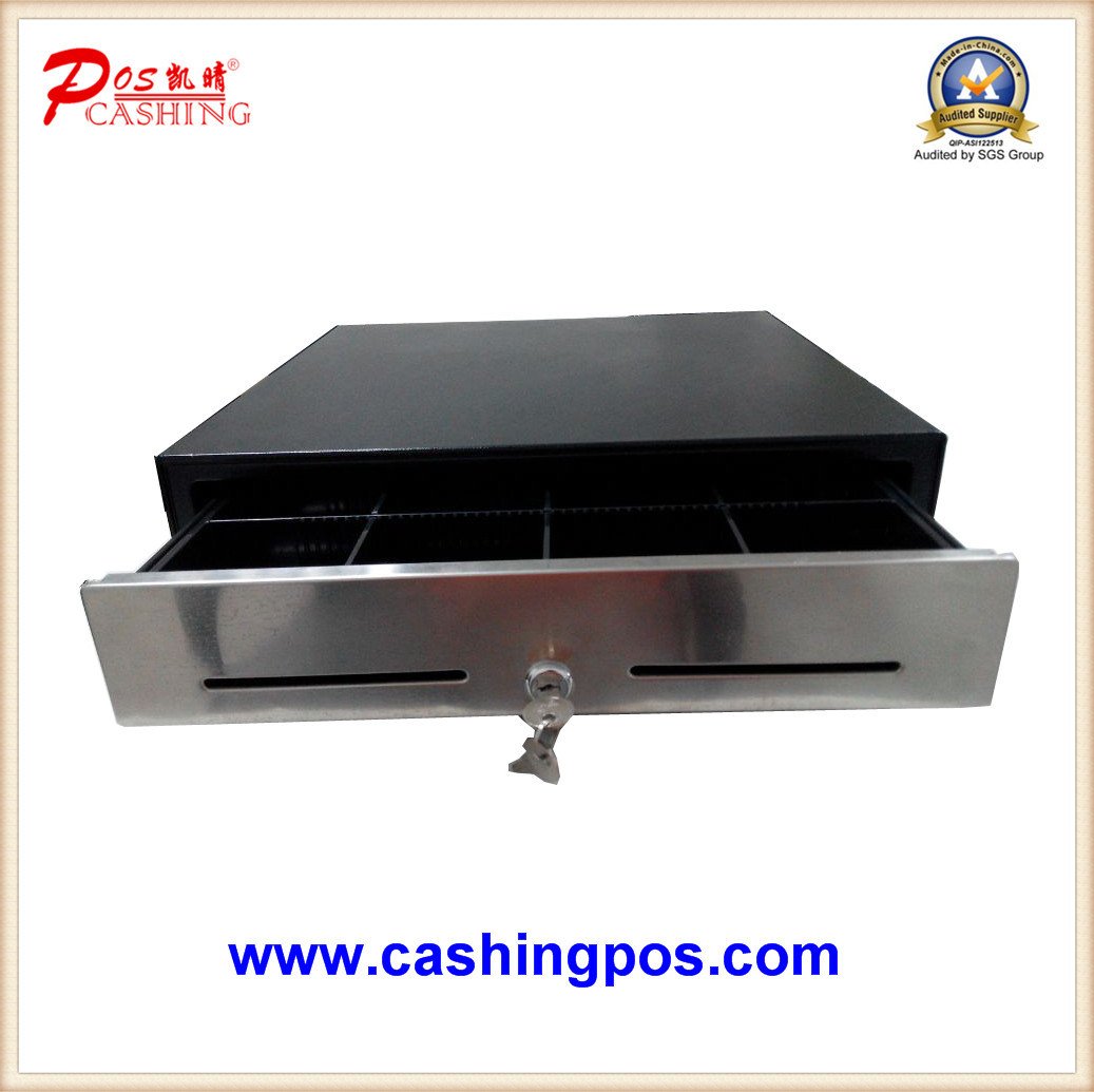 Stainless Manual Cash Drawer Replacable for Cash Register Printer