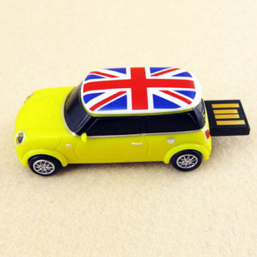 Custom Sliding Car USB Flash Drive Pen Drive for Promotion Gift 128GB