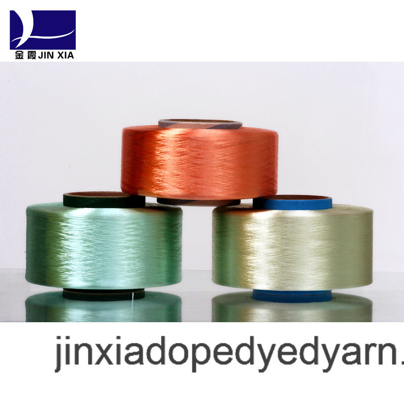 FDY Dope Dyed 1000d/288f Filament Polyester Yarn