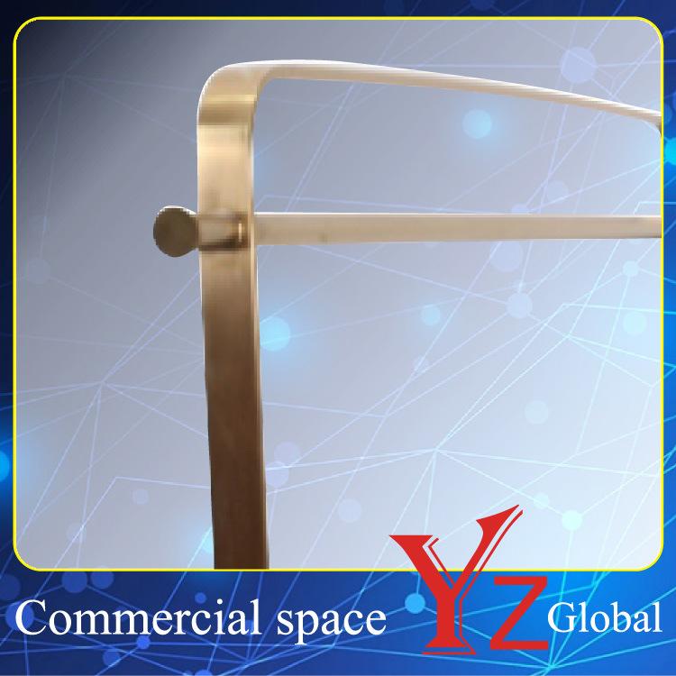 Display Rack (YZ161805) Stainless Steel Display Stand Display Shelf Hanger Rack Exhibition Rack Promotion Rack