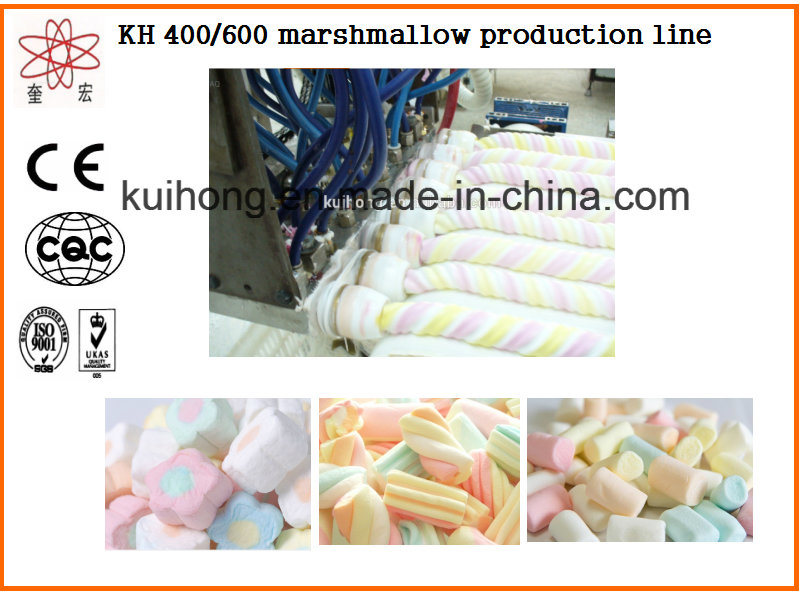 Kh 400 Marshmallow Production Line Machine