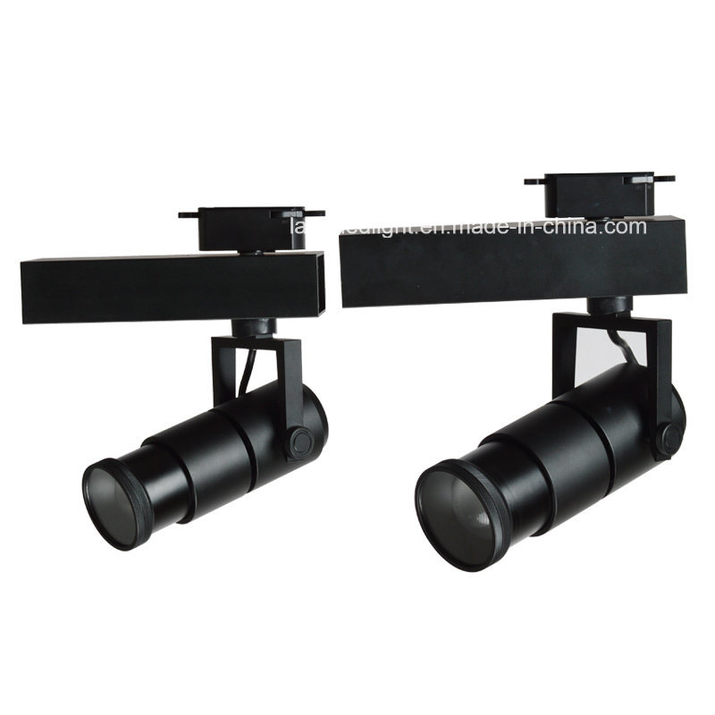 12W 24W Remote Control CCT Adjustable Dimmable COB LED Track Light with Zoom for Museum