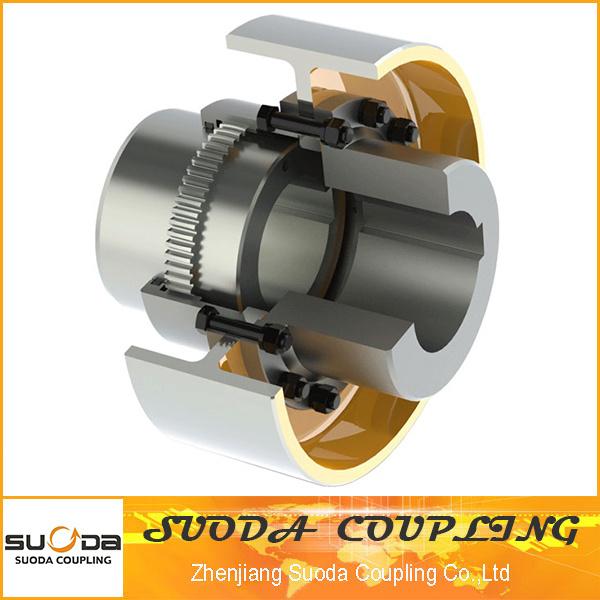 Gear Coupling with Brake Wheel Gau Type
