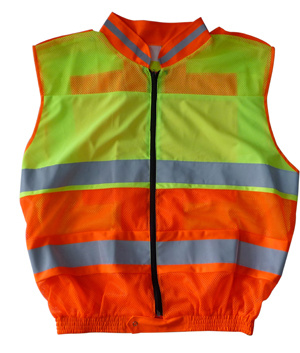 High Visibility Safety Reflective Wear with Long Sleeve (DFJ040)