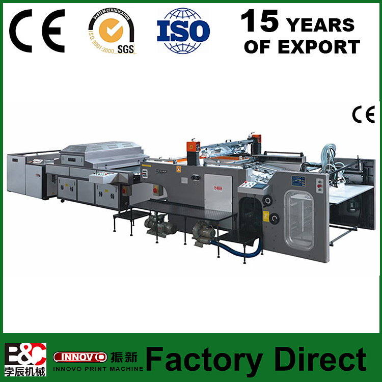 Full Autonmatic Stop Cylinder Screen Press Screen Printing Machine Prices