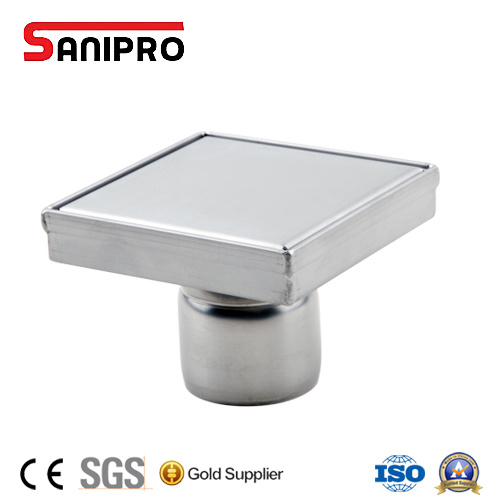 304 Stainless Steel Square Shower Drain Floor Drain