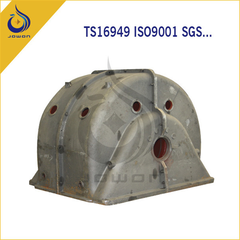 Ts16949 Certificated Iron Casting Machining Parts Engine Cover