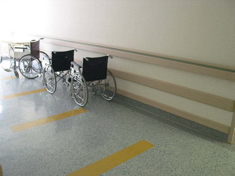 PVC Handrails for Hospital Project Wall Protection