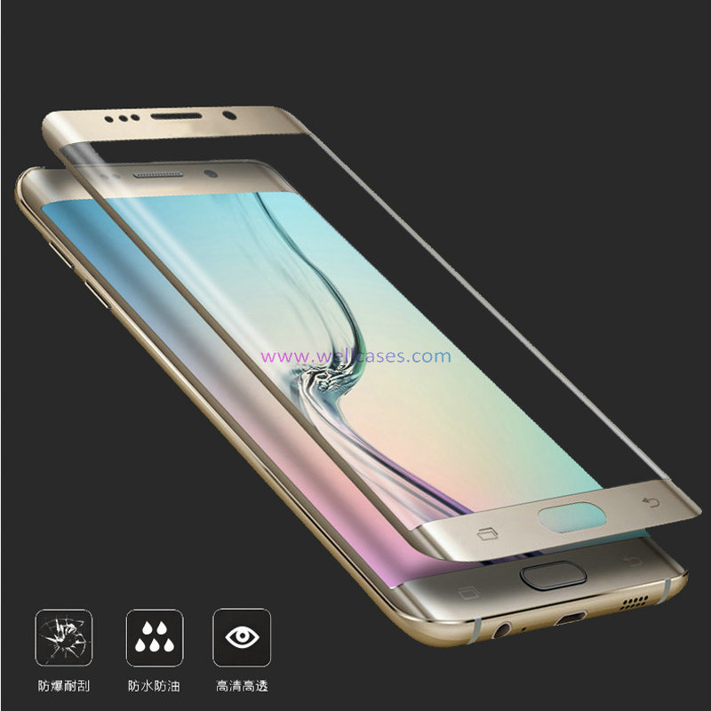 3D Full Cover Tempered Glass Screen Protector for Samsung S7edge