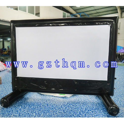Durable PVC Tarpaulin Classic High Quality Outdoor Inflatable Advertising Movie Theater Screen