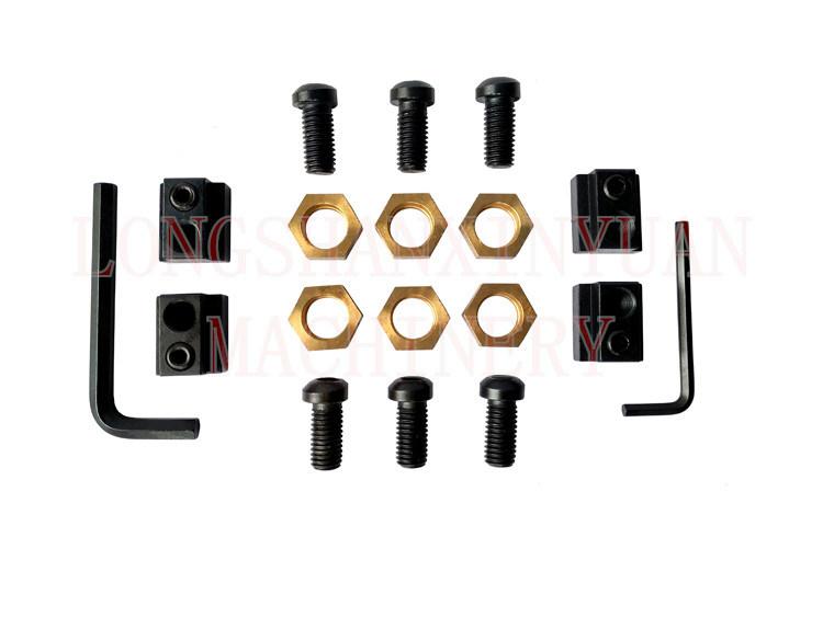 "5/8"" T-Slot Deluxe Steel High Hardness Clamping Kit"