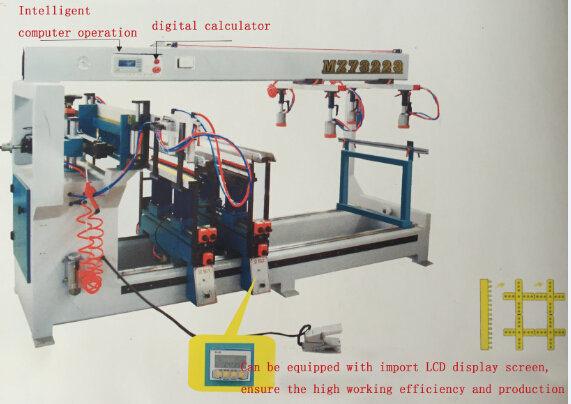 High-Quality Three Lines Boring Machine