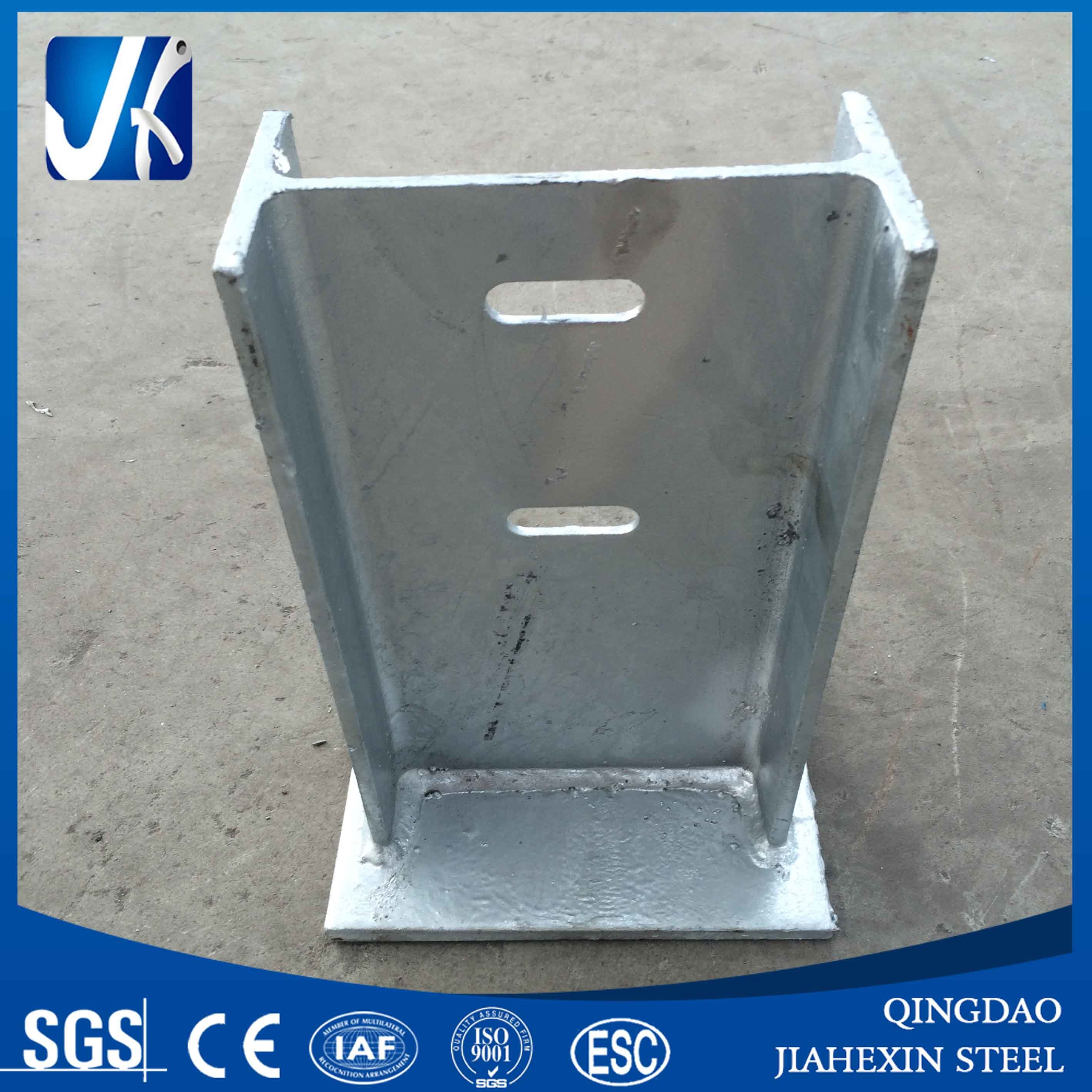 Galvanized Beam Solar System Mounting Bracket