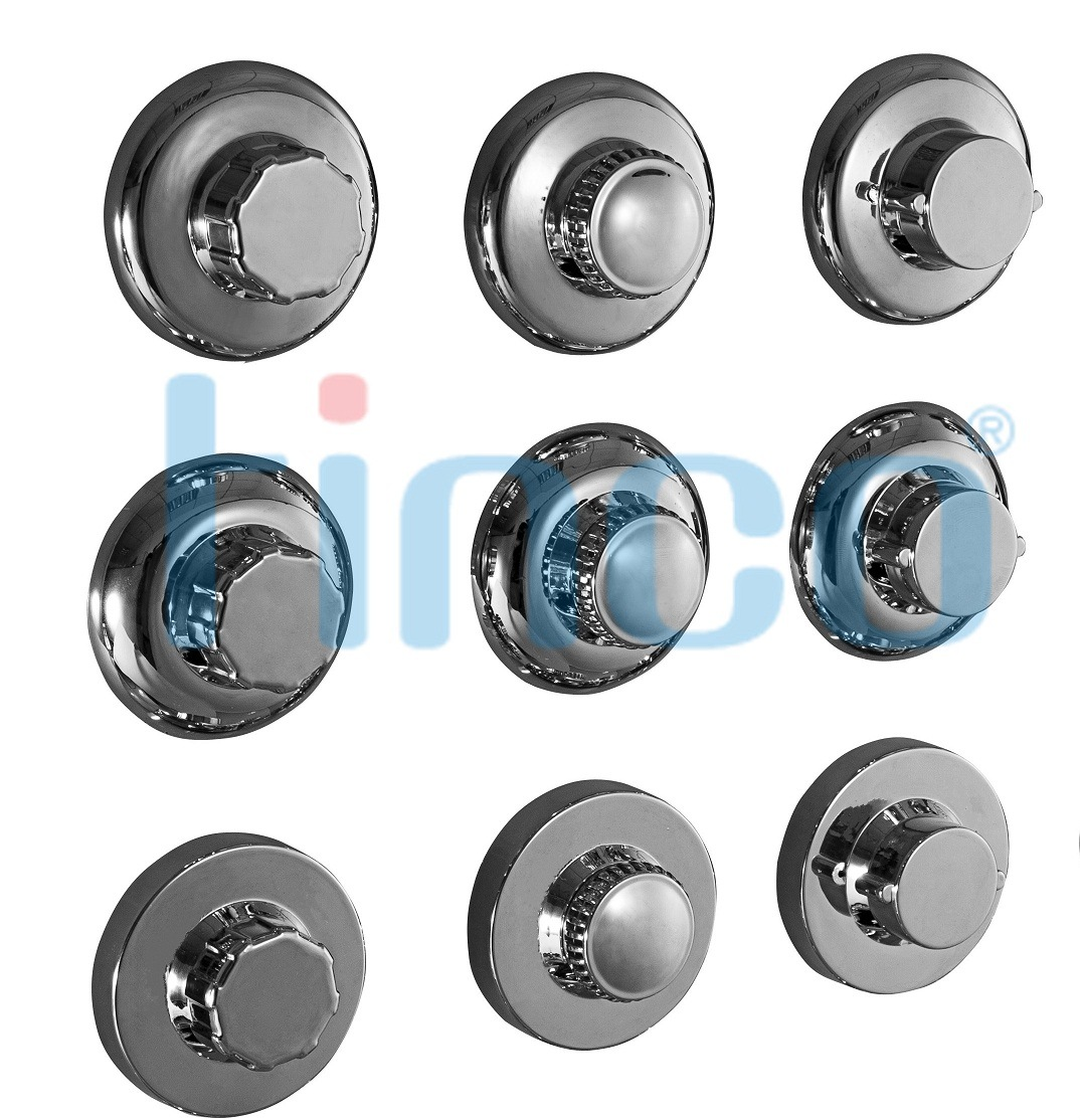 Tinco Chromed Super Vacuum Suction Cup, Rubber