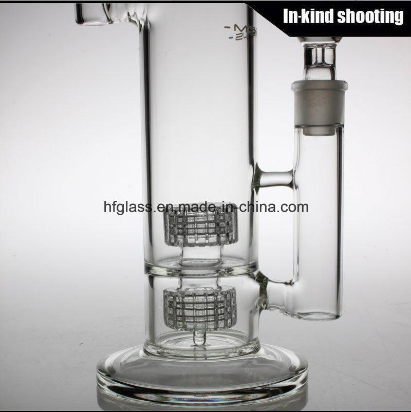 China Wholesale Glass Smoking Water Pipe Mobius Glass Bubbler Matrix Borosilicate Pyrex Hookah Glass Water Pipes Bubbler