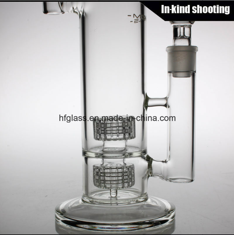 China Wholesale Glass Smoking Water Pipe Mobius Glass Bubbler Matrix Borosilicate Pyrex Hookah