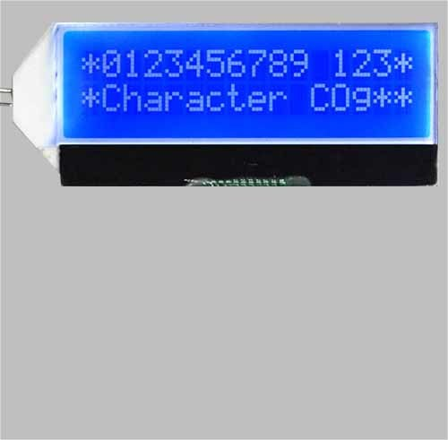 16X2 Charanceter LCD Display Module Screen Blue Cog