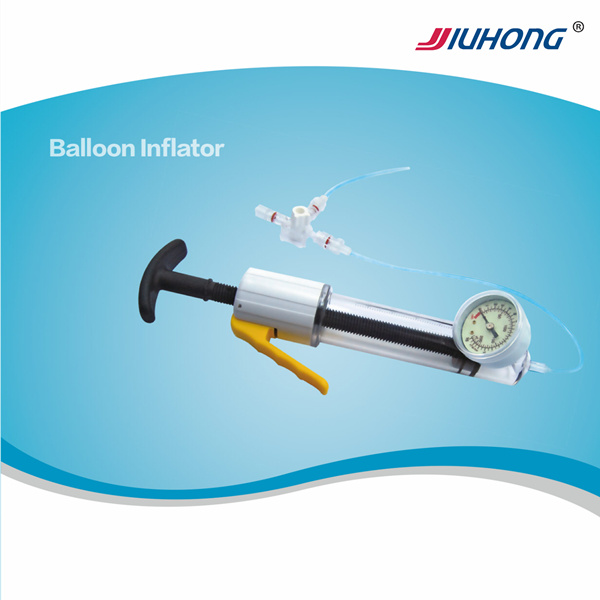Balloon Inflation Device with Dilation Balloon Catheter