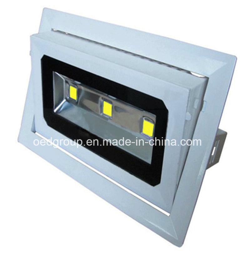 30W LED Rectangular Shop Light and Ceiling Lighting