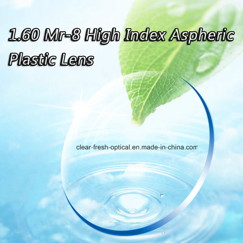 1.60 Mr-8 High Index Aspheric Plastic Lens
