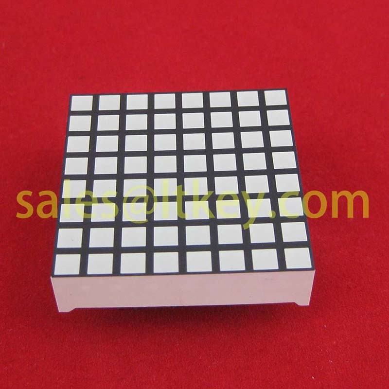 1.2 Inch 8X8 LED Square DOT Matrix