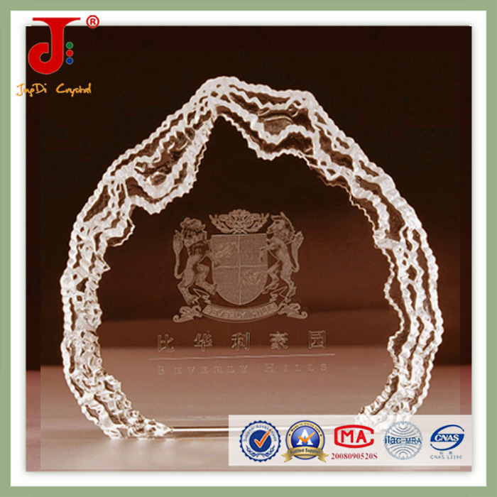 Blank Crystal Series Crystal Photo Use Blank Crystal (JD-CB-303)