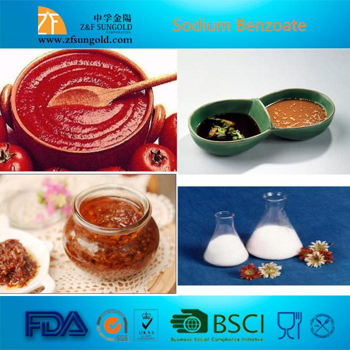 Hot Selling Preservative Food Grade Sodium Benzoate