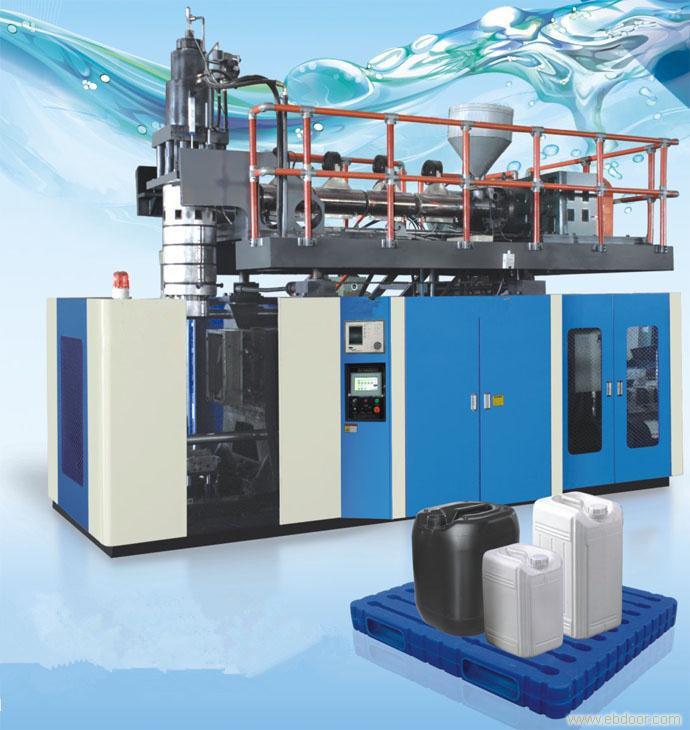 High Quality Plastic Pail Blow Molding Making Machine