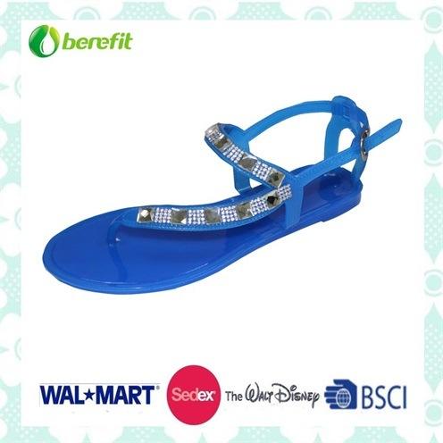 Beautiful Design, Delicate Decoration, PVC Sandals