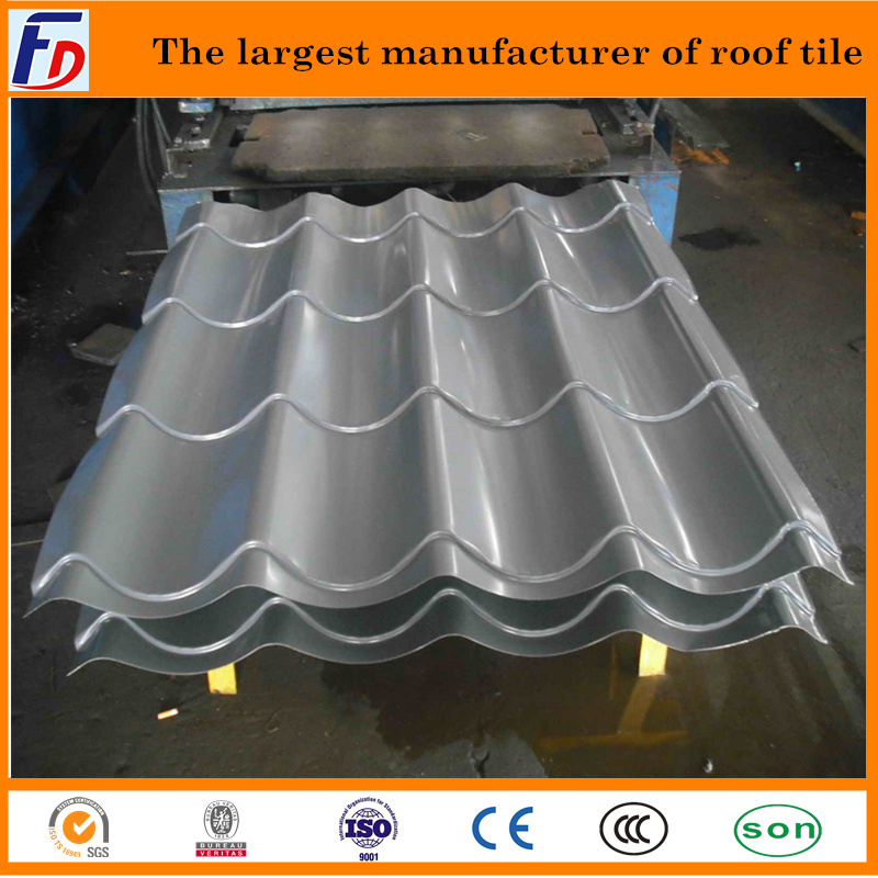 china coated roof tile for west africa with reasonable price