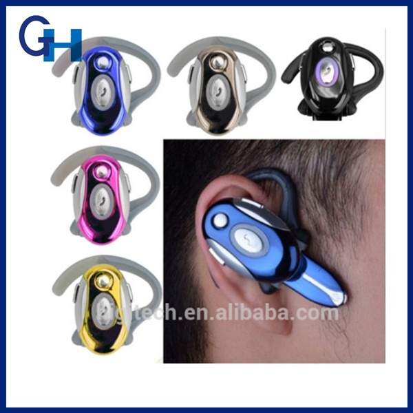 2016 Business Handsfree Stereo Earphone Wireless Bluetooth Headset for iPhone 5 5s 6
