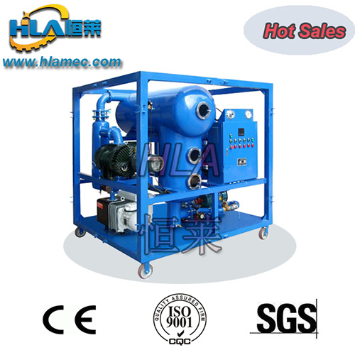 Two Stages Vacuum Transformer Oil Purification System
