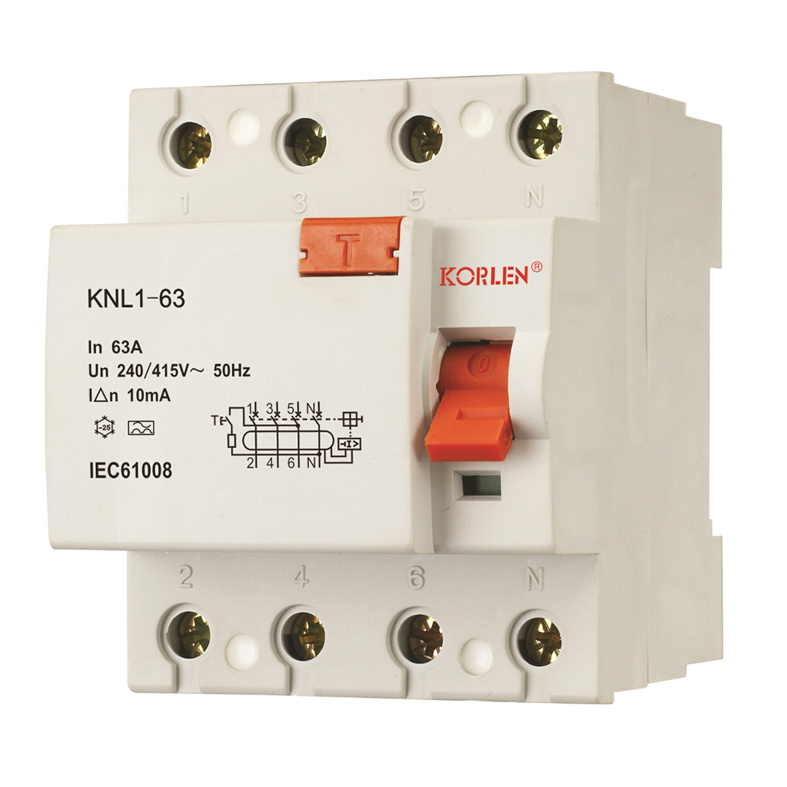 Knl1-63 (F360) Residual Current Circuit Breaker - 2007 Type