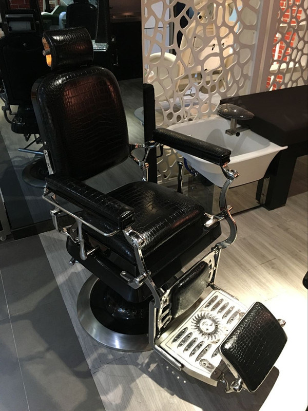 The King of Salon Furniture Reclining Salon Barber Chair for Sale (MY-A612)