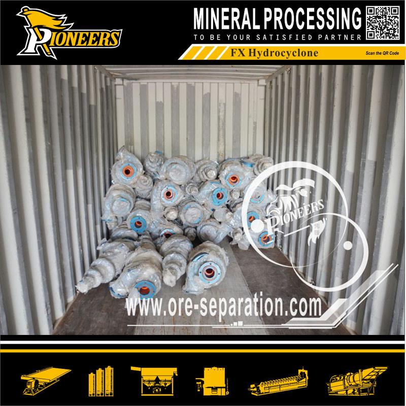 Mining Cyclone Classifier Ore Industrial Equipment Separator Dewatering Hydrocyclone